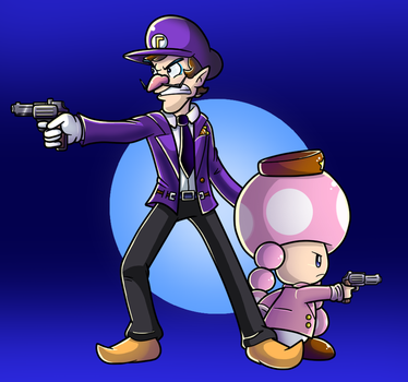 Commish: On the Case by Nintendrawer