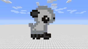 A tiny little lamb by Aperture-Turret