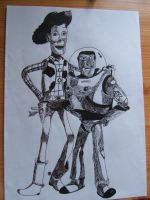 Toy Story by Roverdabummer