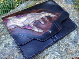 Zombie! Leather tablet case by Skinz-N-Hydez