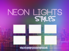 Neon Lights Styles by MyOnLyHeart