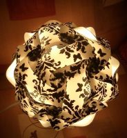 Black and white lamp by estranged-illusions