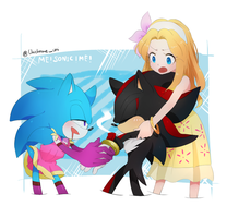 ME!SONIC!ME! by Unichrome-uni