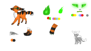 JackOLantern Species Ref by FireBlazeRose