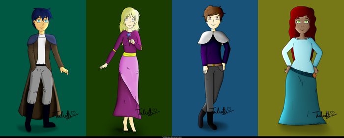 My own style - New Characters! by YulizieLove