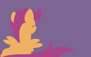 Scootaloo Wallpaper by alskylark