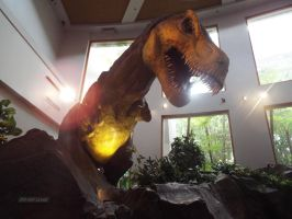 When a T-Rex Breaks Into the Museum by Parrotmecium