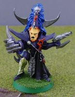 Dark Eldar Archon - Old by Drazhar24