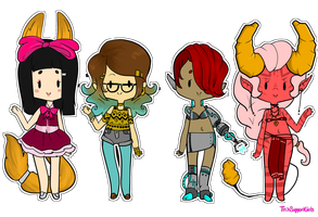 Hipsters and Cybers (CLOSED) by TechSupportGirls