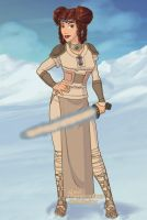 Viking Princess Leia by LadyIlona1984