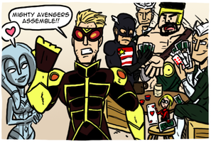Mighty Avengers by theEyZmaster
