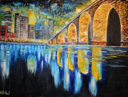 Stone Arch Bridge by kalikoltz