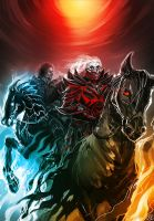Mad Max Fury Road - Horsemen of the Apocalypse by maXKennedy