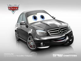 Mercedes C63AMG 2008 'BEN' by yasiddesign