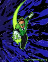 Green Lantern by Ammotu