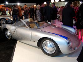 REAL Porsche 550 Spyder front by Partywave