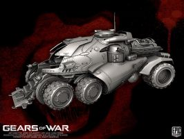 Gears of War APC by YemYam