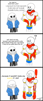 How Does That Smell? (Undertale Comic) by steamdiesel