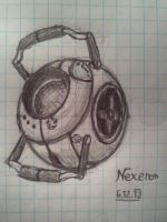 Wheatley sketch by Nexeron