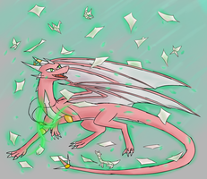 Flying Paper by Lunoxius