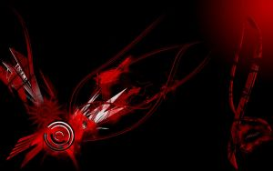 red black Wallpaper Widescreen by ecco666
