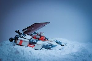 Lukes Crash on Hoth by Oocatt