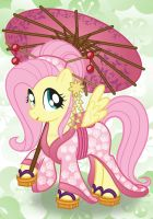 Fluttershy by bonniepink