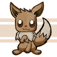cute furry Eevee by Kat-Skittychu