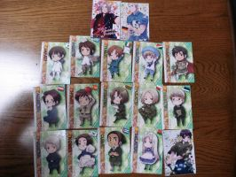Hetalia Card Collection Part 2 by KingdomKeyblade