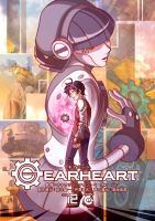 GEAR HEART - Poster by Zelkats