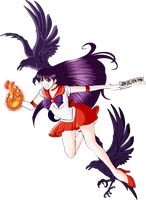Sailor Mars by ZeBollocks