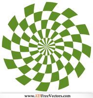 Spiral Optical Illusion Vector Free by 123freevectors
