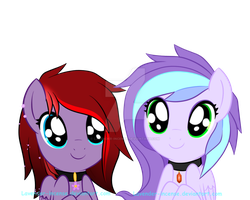 Pegasisters: Wide eyes! by Lavender-Incense