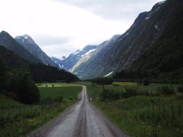 Norway - road by CAStock