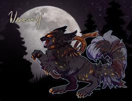 Halloween Faelidh-Werewolf (CLOSED) by Verlidaine