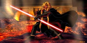 Sith Nautolan Darth Mach by adrman