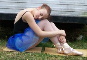 Ballet - Full Body 14 by Gracies-Stock