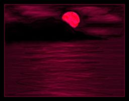 The Blood Red Sea by VioletSun