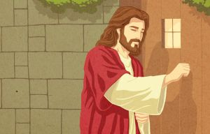 Jesus Knocks at the Door of Your Heart by jonah-onix