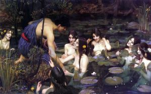 Hylas and the nymphs 2.0 by Pierropod
