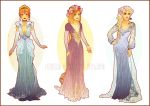 Art Nouveau Costume Designs II by Hannah-Alexander