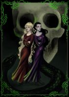 The Black sisters by Pandora-Gold
