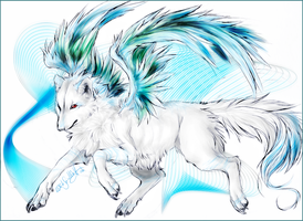 KP.:Icewing - Fly High:. by WhiteSpiritWolf
