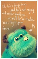 Sulley's Happy Bear Song by CaptainChibi
