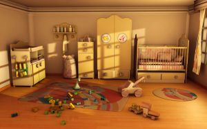 Baby room by Dushyant20b