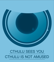 Cthulu Sees You by DarkObliveon