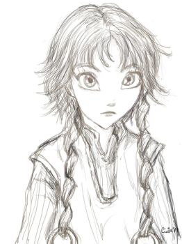 Elyon drawing by Atnica
