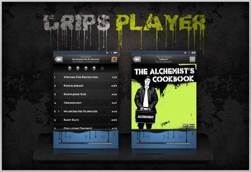 Drips iPod Player by turnpaper