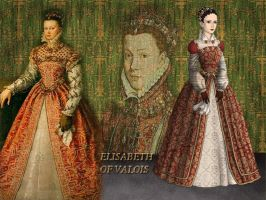 Elisabeth of Valois by Nurycat