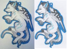 Sylo Full Bodied Badge by pagedrillgirl